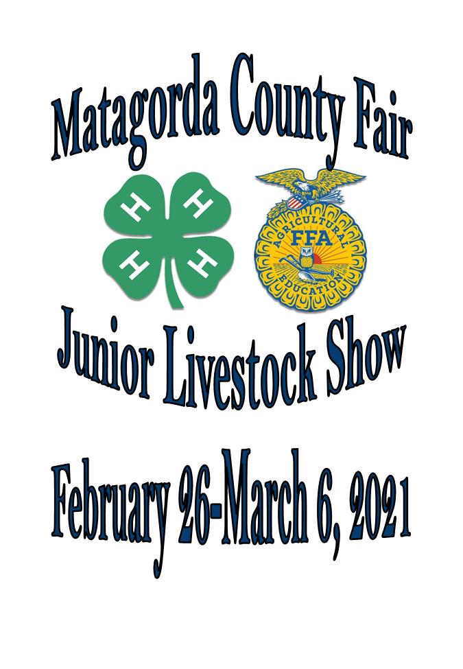 2021 Updated Junior Livestock Show